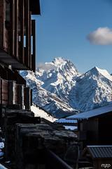 La Muzelle, depuis l'Alpe d'Huez. (mzagerp) Tags: montagne mountain alpes france isère savoie muzelle pic grave meije rateau snow neige ski snowboard pistes slope