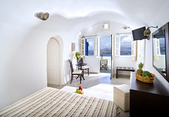 Volcano View Hotel & Villas, Santorini (Volcano View Santorini) Tags: family wedding sunset sea summer holiday caf pool kids breakfast bar dinner private children relax island cuisine restaurant hotel la rooms mediterranean honeymoon  wine deluxe events aegean parties calm romance jacuzzi resort business santorini greece cocktail event international reception caldera massage serenity views meal beaches romantic snacks buffet conferences chic dishes accommodation comfort studios appetizers luxury villas suites cycladic carte fira facilities maisonettes