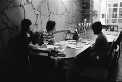 meeting (Atelier Conques) Tags: leica tmax m6 kurashiki summitar