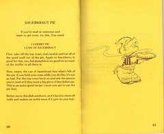 Dennis the Menace Cookbook 10 (unclesporkums1) Tags: boy food silly art cooking recipe cookbook kid artwork funny comedy humorous child humor fake humour retro 70s recipes mischievous 1970s mischief dennisthemenace troublemaker hankketcham
