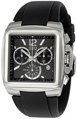 ESQ by Movado Bracer Black Dial Chronograph Rubber Strap Mens Watch 07301334 (luxuryjug.com) Tags: esq newitems luxurywatch 07301334 bestpriceesq lowestpricesesq esqmenswatch esq07301334