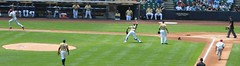 Maldonado gets the 3rd out (bjkrautk) Tags: brewers phillies millerpark