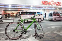 20130613_05_Cross bike (foxfoto_archives) Tags: bike japan photoshop 35mm canon eos tokyo ginza cross mark f14 sigma adobe ii  5d   44 dg marunouchi lightroom  hsm  a012