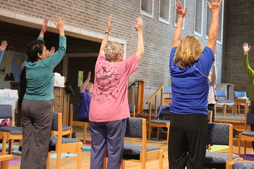 Chair Yoga - Health and Wellness - April 2013 (16)