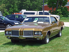 1972 Olds Cutlass (PPWIII) Tags: cars classics springlake m104 worldcars
