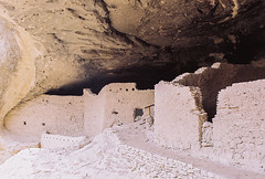 Gila Cliff Dwellings (Walk/Humbly) Tags: newmexico film lomography nikonfm2 gila