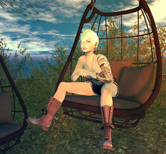 chill (Darkley Aeon) Tags: avatar sl secondlife darkleyaeon guerillaavatar