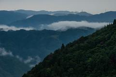 Atagoyama, Kyoto /  (Kaoru Honda) Tags: summer cloud nature rain japan forest landscape japanese nikon kyoto shrine         atagoyama       atagojinja    d7000