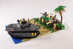 Battle of Saipan (Florida Shoooter) Tags: usa japan usmc lego ww2 saipan type95hago type96model1triplemount25mmaaatgun lvta5