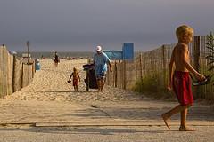 Long Beach Day (Cheryl Atkins) Tags: family sky sunlight beach golden sand surf atlanticocean capemaynewjersey