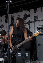Butcher Babies- 2013 Mayhem Festival- Clarkston,MI 7/28/13