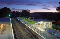 August 6th: Night lines (OzzRod) Tags: night newcastle pentax august single railways k5 2013 pentaxda1650mm