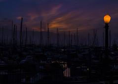 BreakWater4 (MARK RUIZ 08) Tags: california sky beach water santabarbara clouds sunrise boats earlymorning breakwater