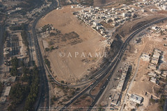 Ain Ghazal (APAAME) Tags: flight1 flying2006 neolithic digitalcamera aerialarchaeology aerialphotography middleeast airphoto archaeology ancienthistory
