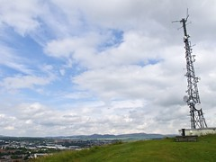 Top of Dundee (gdelorenzo89) Tags: sky clouds dundee antenna topofthehill