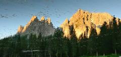 Cadini di Misurina (Michele Zecchin) Tags: sunset mountain lake mountains reflections de landscape lago tramonto di riflessi montagna paesaggio dolomites belluno dolomiti veneto misurina cadini antorno nikond7000 nikkorafsdx18105f3456g