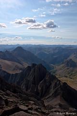 Looking toward Yankee Boy (isaac.borrego) Tags: mountains clouds colorado peak summit rockymountains fourteener sanjuanmountains ouray yankeeboybasin mountsneffels canonrebelxsi