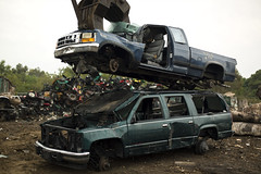 (Dylan Johnston) Tags: yard truck clean junkyard recycle wreck salvage destroy