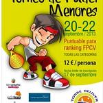 Torneo Menores Torrebellver Sep2013