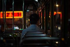Hong Kong   |   Lone Rider (JB_1984) Tags: tram publictransport passenger man bokeh dof depthoffield hongkongtramways sheungwan centralandwesterndistrict hongkongisland hongkong 香港 hongkongsar hk china nikon d7100 nikond7100 explore explored