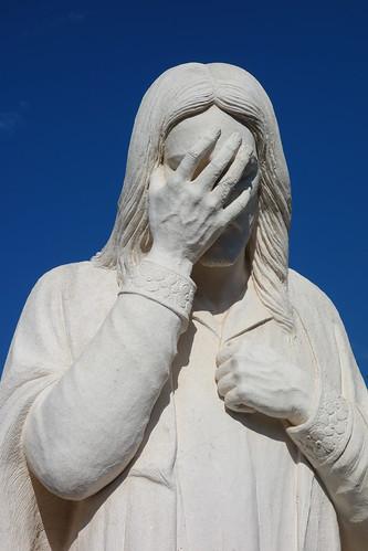 Jesus Wept Sculpture, Oklahoma City National Memorial (2)