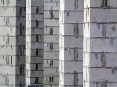 Park Pergola Pillar Progress (Whatknot) Tags: park dallas texas pillars pergola whatknot 2013 kiest w730