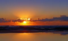 Our Beautiful Planet (Fotomondeo) Tags: sea sky españa sun sol beach valencia clouds sunrise reflections mar spain playa alicante amanecer cielo nubes reflejos salidadelsol lx7 playadesanjuan lumixlx7 panasoniclumixlx7