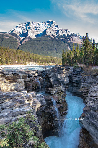 Athabasca Falls, Jasper, Alberta