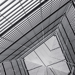 Enter Light At More London Place III (Mabry Campbell) Tags: uk windows england blackandwhite abstract london monochrome lines june photography photo europe pattern photographer image unitedkingdom capitol photograph 100 24mm f71 squarecrop fineartphotography architecturalphotography capitolcity commercialphotography 2013 architecturephotography vertcal tse24mmf35l fineartphotographer houstonphotographer ¹⁄₄₀₀sec mabrycampbell june102013 201306100h6a3646