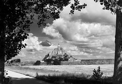 Mont St Michel (davidwphotos) Tags: france abbey saint michel normandy mont montstmichel
