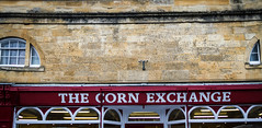 Chipping Campden (DigHazuse) Tags: vacation england sign stone cotswolds quaint cornexchange chippingcampden cotswold onholiday
