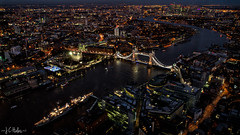 Cityscape from the Shard (Jchales.co.uk) Tags: from sunset building london tower night canon dark lights office high twilight cityscape view sundown no tripod cityscapes 7d tall shard 1755 canonefs1755mmf28isusm jchalescouk