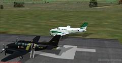NZZC (01) (HenriqueSantos) Tags: nova flight polícia flightsimulator kingair fsx zelândia c90 fedral uniair carenado henriquesantos flightsimulatorsimuladorfsxhenriquesantos