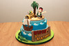 Jake and the Pirates (lucienne curmi) Tags: sea money cake boat treasure jake chest palm pirate crocodile tre sugarcraft