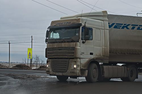 "Daf XF105 ""Vektor"" (Rus)"