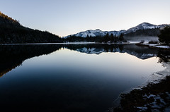 Reflections at Gold Creek Pond (Brian Xavier) Tags: reflections photography northwest lakes pacificnorthwest cascademountains goldcreek goldcreekpond snowonmountains photographicarts wintertones landscapesgallery bxavier bxphoto brianxavierphotography brianxavier bxfoto bxfotocom