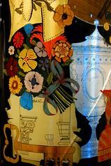Piero Fornasetti Triennale Milano (pinousicco) Tags: graphicdesign moda luna pottery foulard sole disegni sedie gatti calendari piatti mobili graphicsign dipinti specchi lampade vassoi paraventi portaombrelli pierofornasetti obelischi ceramicadipinta triennaledesignmuseum triennalemilano2013 100annidifolliapratica pierofornasettitriennalemilano barnabafornasetti segnografico