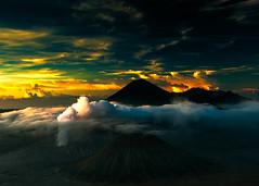 Sunrise over Mount Bromo (new shot) (rosskevin756) Tags: blinkagain greatphotographers flickrsfinestimages1 flickrstruereflection1 tplringexcellence flickrsfinestimages3 infinitexposure indonesia java