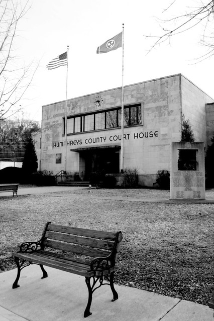 Humpreys County Courthouse (2014D) - Waverly, TN