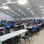 Sochi Volunteer Dining Hall PHOTO CREDIT: Andre Labine