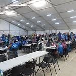 Sochi Volunteer Dining Hall PHOTO CREDIT: Andre Labine
