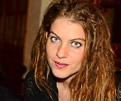 Blue Eyes (pickup2sticks 5.8 million views) Tags: sexy girl beautiful beauty face dreadlocks hair ginger eyes nikon pretty blueeyes longhair lips spanish lipstick dreads spanishgirl d7000