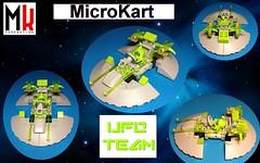 ufoteam (fabien7857) Tags: lego space alien ufo galaxy area51 microkart