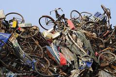 Rickshaw graveyard in Dhaka (Bicycle Photography) Tags: dhaka rickshaw bangladesh bikeculture bicycleculture