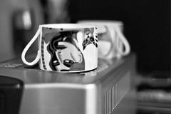 Waiting (stumble) Tags: sanfrancisco 50mm kodak olympus 400tx cups cappuccino tipperary om2n girlsbestfriend knuttel