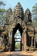 Angkor Thom Gateway, Siem Reap, Cambodia (Oliver J Davis Photography (ollygringo)) Tags: world travel sculpture heritage history archaeology statue architecture ancient ruins cambodia southeastasia khmer culture unescoworldheritagesite unesco empire gateway civilization siemreap tombraider civilisation bayon angkorthom northgate oliverdavisphotography oliverjdavisphotography