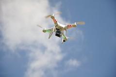 drone (:::alejandra:::) Tags: sky clouds planes drone  aeromodelism  goprocamera elgatoconfite dronerig