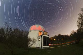 Star Trails over Kepler Observatory