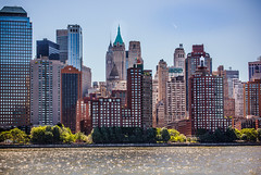 Lower Manhattan Waterscape (12bluros) Tags: city nyc newyorkcity travel water skyline architecture buildings cityscape unitedstates metropolitan waterscape autofocus skyscapers manhattannewyork mygearandme mygearandmepremium