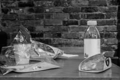 IMG_2376 (Zefrog) Tags: bw stilllife london soho photowalk packaging waste recycling pretamanger gpn zefrog gpnphotowalk